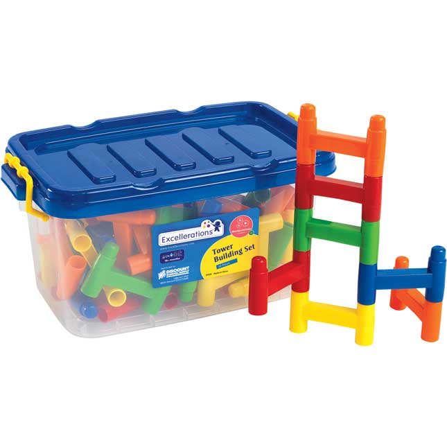 Excellerations Tower Building Set 50 Pieces