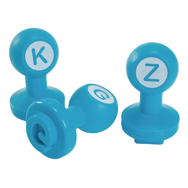 Colorations Alphabet Dough Stampers Set of 26