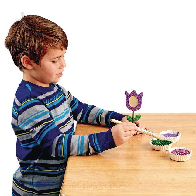 Colorations® Wooden Flower Pot Frames - Set of 12_5