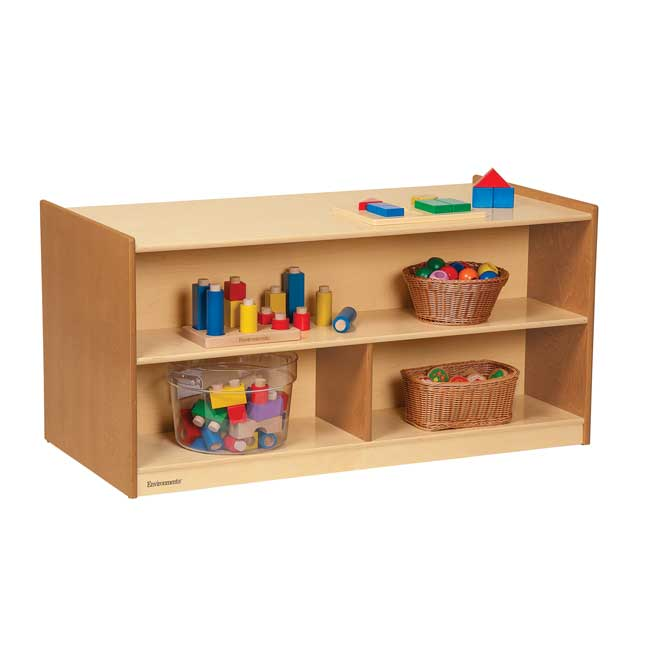 """Environments 24"""" Forest Wood Dual-Sided Storage - 1 storage"""