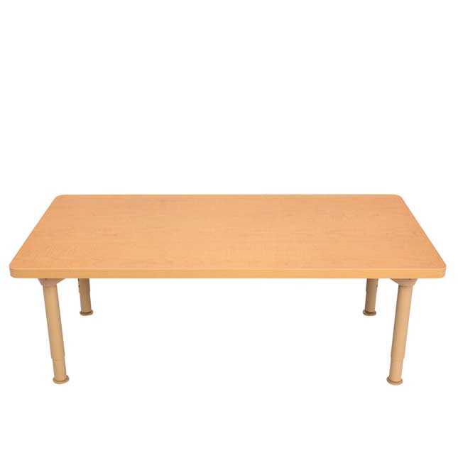 """Environments 24"""" x 48"""" Rectangular Table with Adjustable Legs - 1 table"""