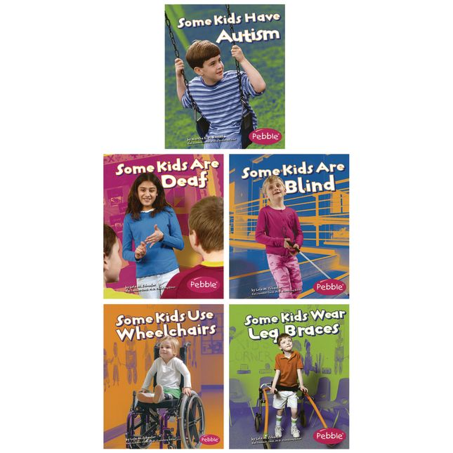 Disabilities and Differences Books   5 Titles