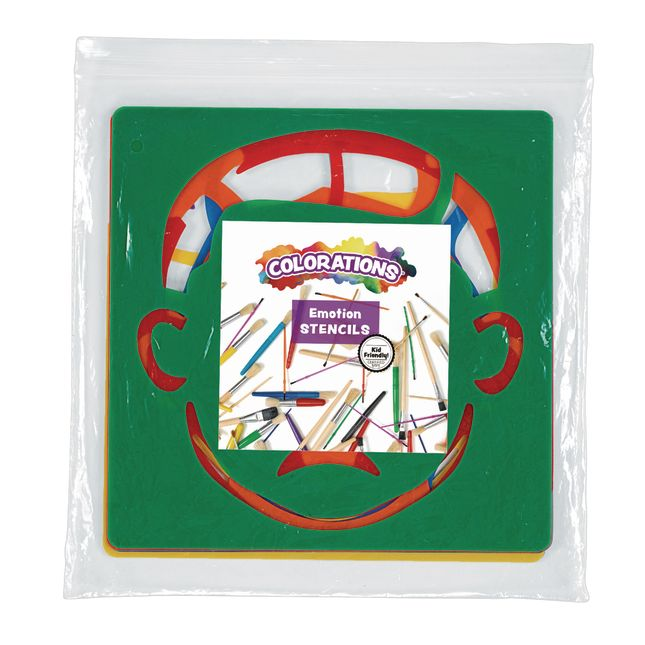 Emotional Stencils Set of 6_1