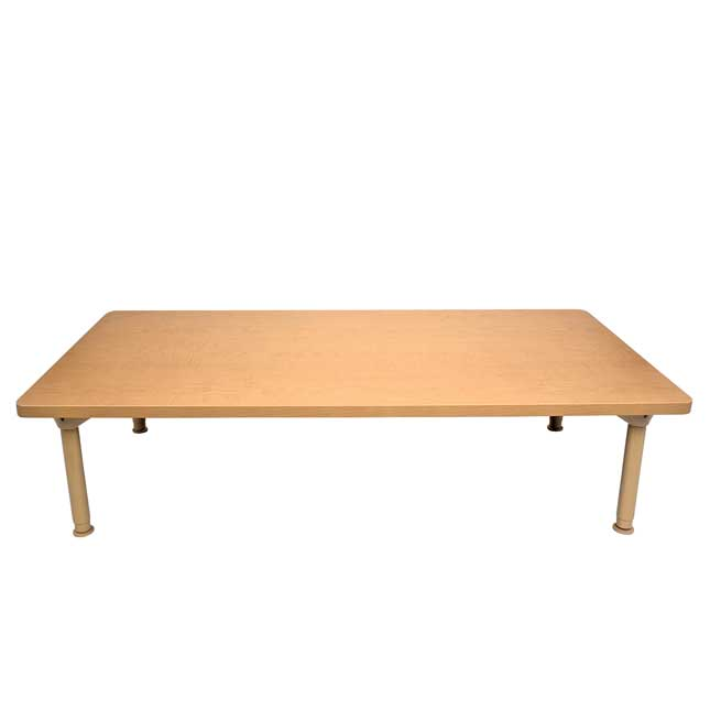 """Environments 30"""" x 60"""" Rectangular Table with Adjustable Legs - 1 table"""