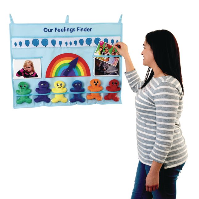 Excellerations Feelings Finder Social Emotional Learning Activity - 1 kit