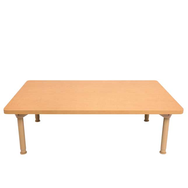 """Environments 30"""" x 48"""" Rectangular Table with Adjustable Legs - 1 table"""