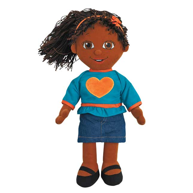 Excellerations African American Girl Cuddle Buddy - 1 buddy