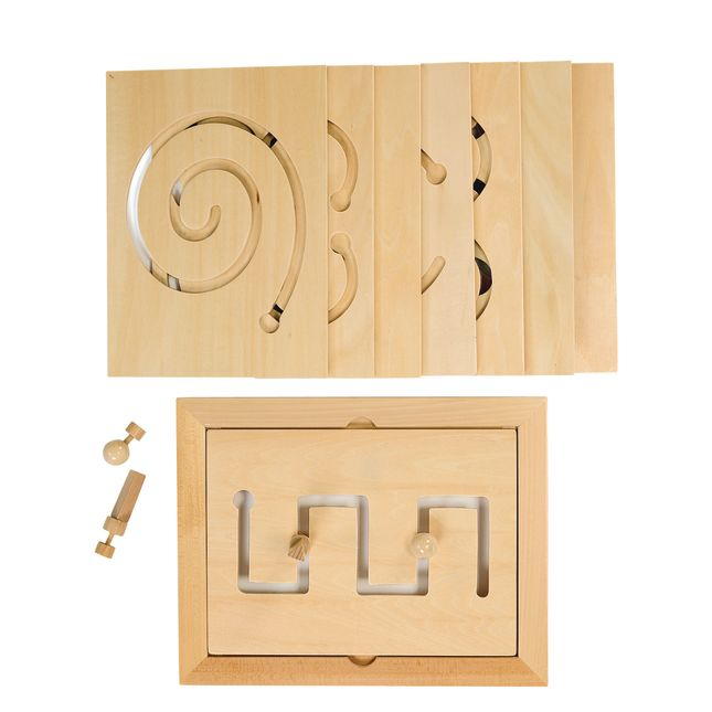 Excellerations Classroom Wooden Educational Toys Set 1