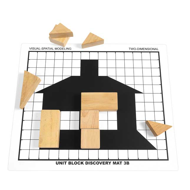 Excellerations Unit Block Discovery Mats   Set of 6