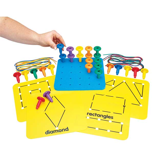 Excellerations Pegs and Patterns Activity - 1 kit