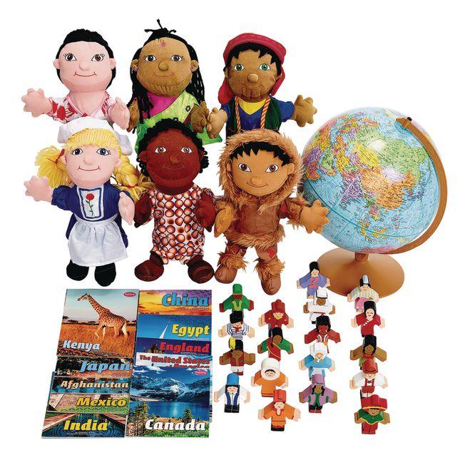 Excellerations World Culture Exploration Kit - 1 kit