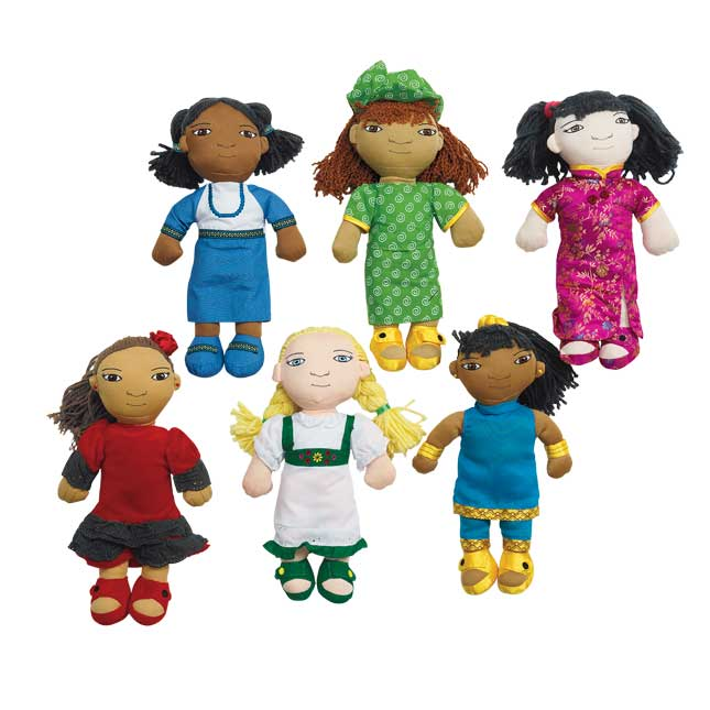 Excellerations World Friends Dolls   Set of All 12
