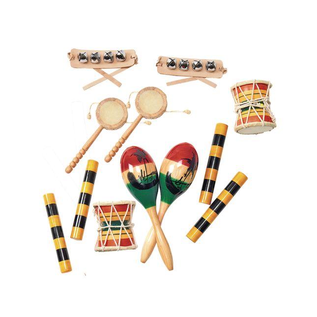 Global Music Kit with Storage Bag - 1 bag