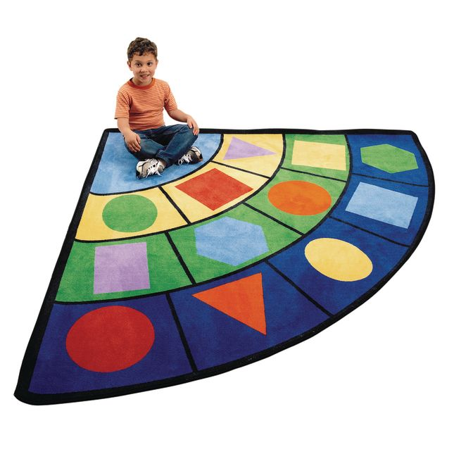 Geometric Shape Carpet   6  Radius