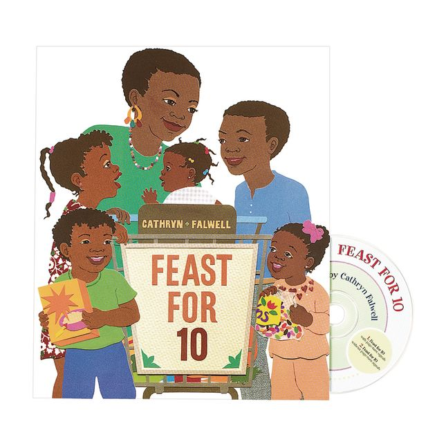 Feast for 10 Book and CD - 10 book and CD