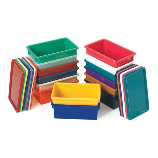 Jonti-Craft Cubbie Trays - Clear - 1 tray