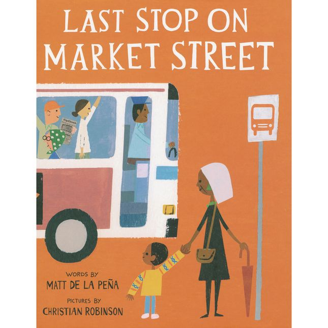 Last Stop on Market Street Hardcover Book - 1 book_0