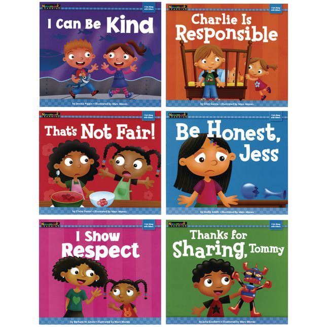 I Get Along With Others Book Set 6 Titles