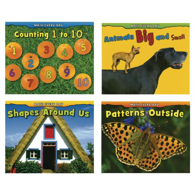 Math Every Day Paperback Books  4 Titles - 4 books