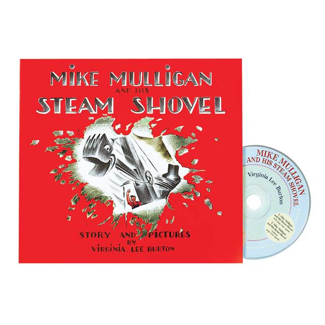 Mike Mulligan and His Steam Shovel Book and CD - 1 book and CD