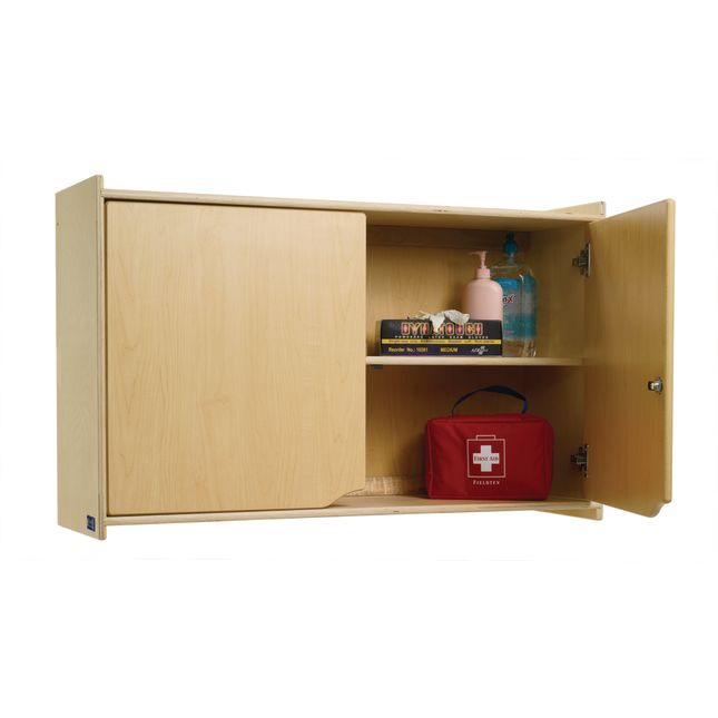 Locking Wall Storage Cabinet - 1 cabinet