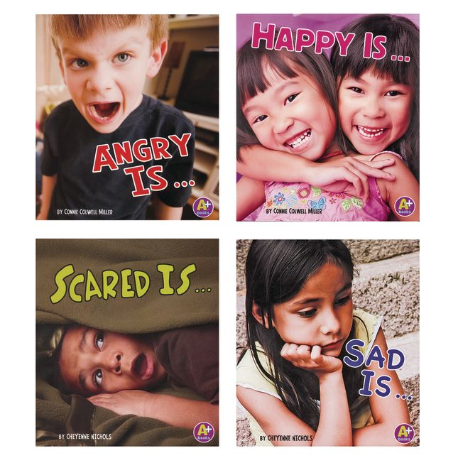 Know Your Emotions Books 4 Titles