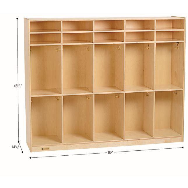 MyPerfectClassroom 10-Section Locker - 1 locker