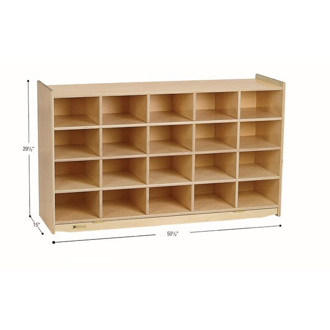 MyPerfectClassroom 20-Cubbie Mobile Storage - 1 storage