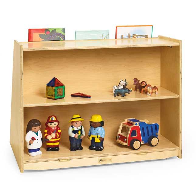 MyPerfectClassroom Book Display with Rear Storage - 1 storage