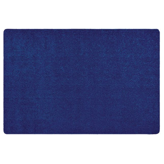 MyPerfectClassroom Premium Solid Carpet   8 4  x 12  Blue