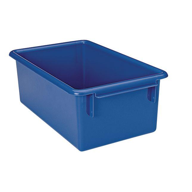 MyPerfectClassroom Easy-Label Bin - Blue - 1 bin