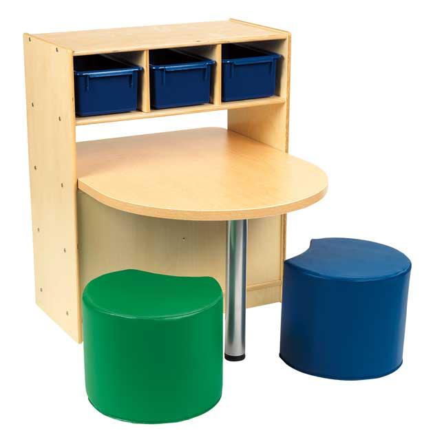 MyPerfectClassroom VersaSpace Activity Table and Storage - 1 table, 1 storage