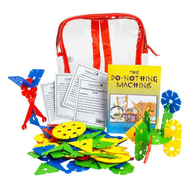 Preschool Family Engagement Kit STEM - 1 multi-item kit