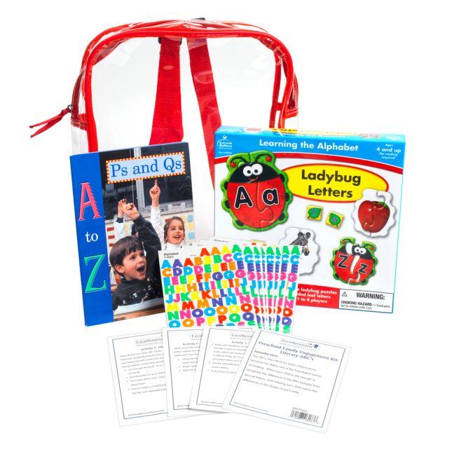 Preschool Family Engagement Kit ABCs - 1 multi-item kit