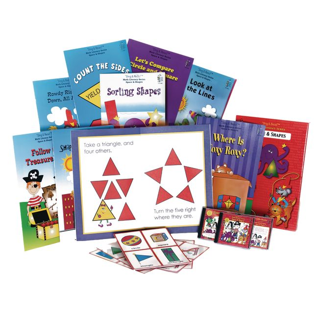 Sing and Read Math Space and Shapes - 1 kit