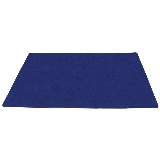 """Solid Color Carpet - Blue 8'5"""" x 11'9"""" Rectangle - 1 carpet"""