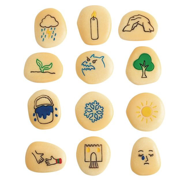 Self-Regulation Stones - 12 stones_0