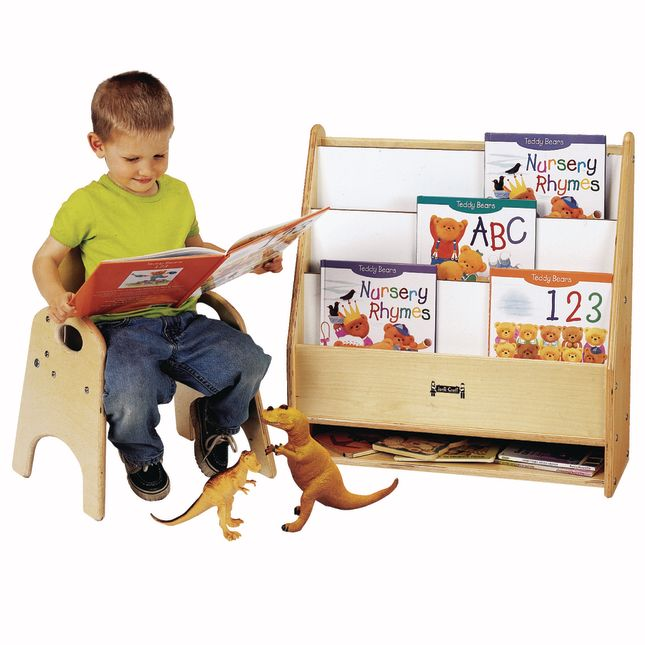 Toddler Pick a Book Stand   1 Sided