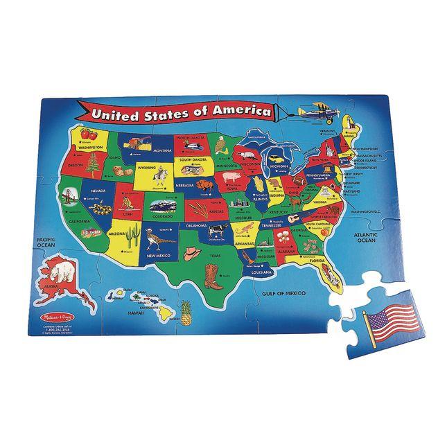 USA Floor Puzzle  51 Pieces_0