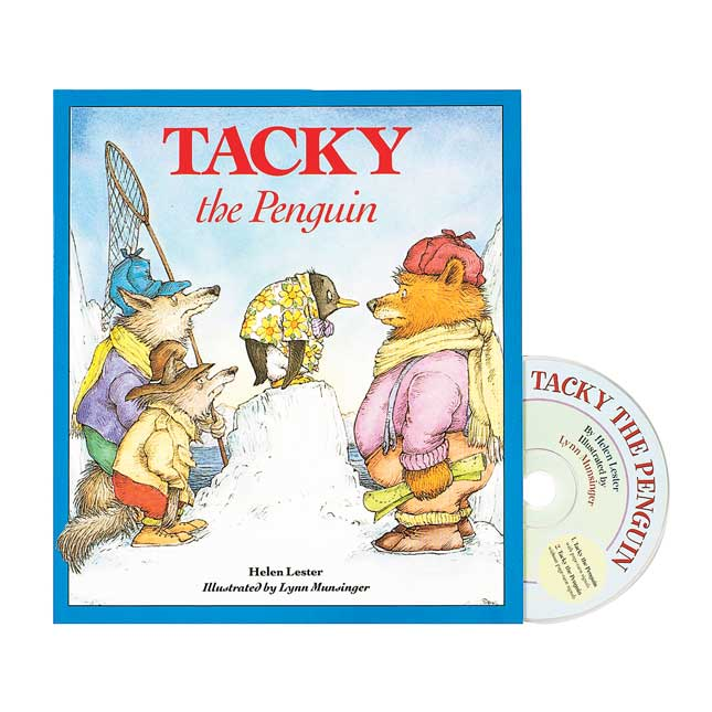 Tacky the Penguin Book and CD - 1 book and CD