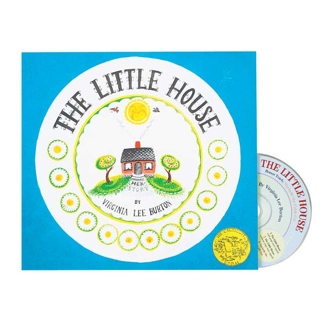 The Little House Book and CD - 1 book and CD