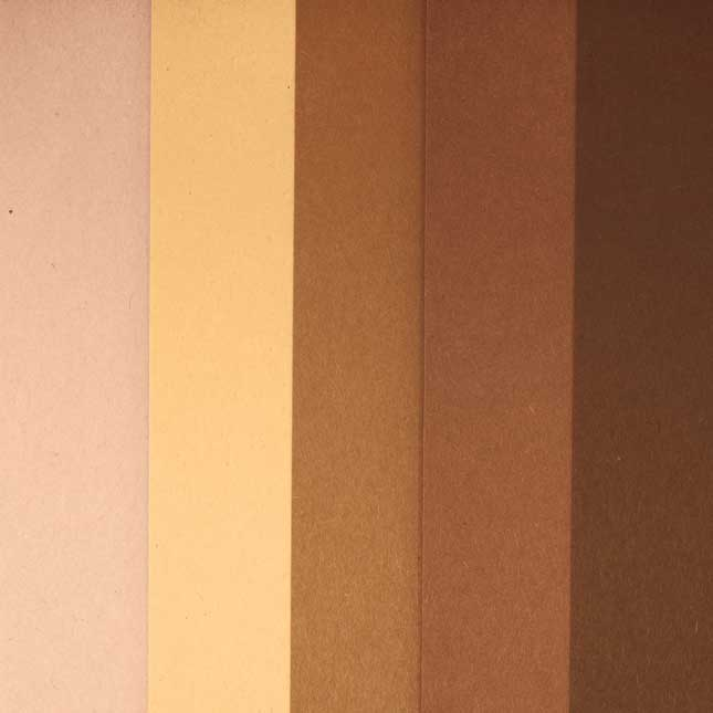 World Colors Multicultural Paper 12  x 18    50 Sheets