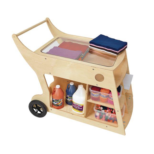 Value Line Birch Art and STEM Cart - 1 set