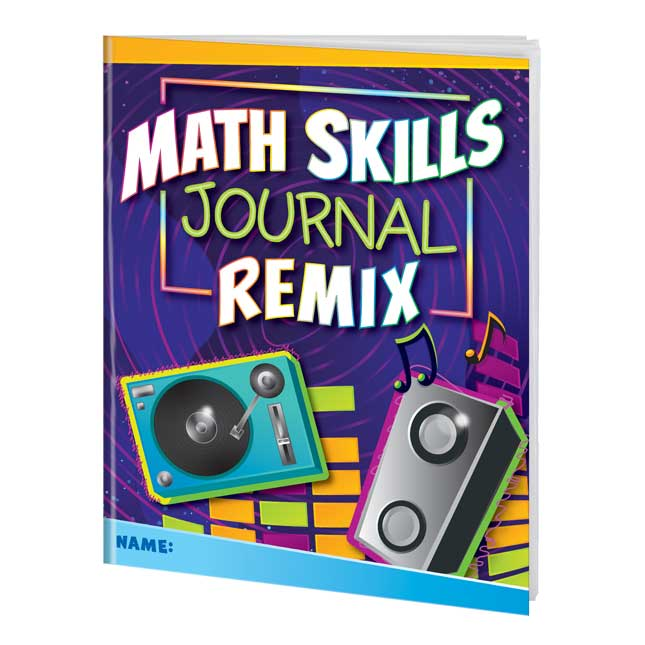 Math Skills Remix Journals for Fifth and Sixth Grades - 12 journals