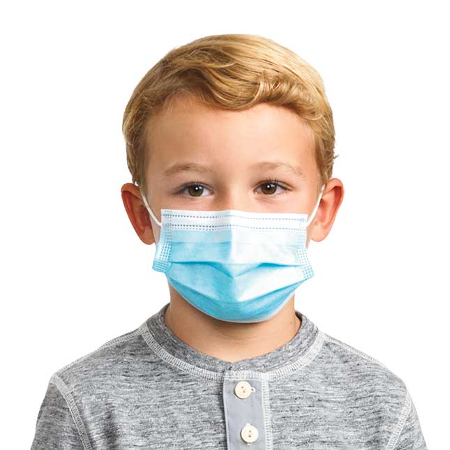 FDA Approved Disposable Mask   Child Size 50 Pack