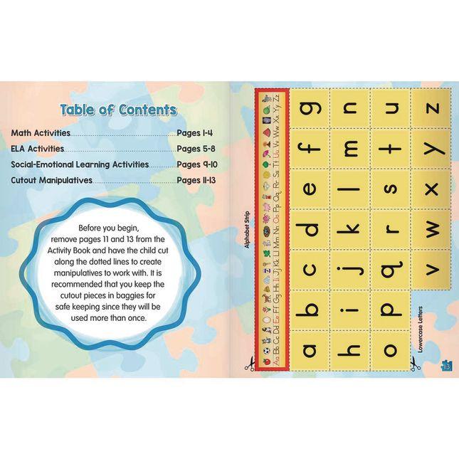 Bridge the Gap Pack   Math ELA and Social Emotional Learning Support   Kindergarten