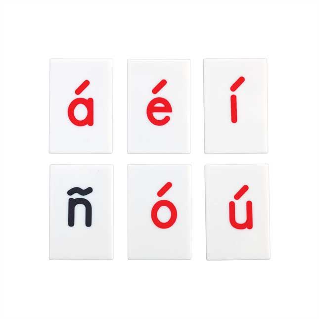 EZread Spanish Letter Tile Kit