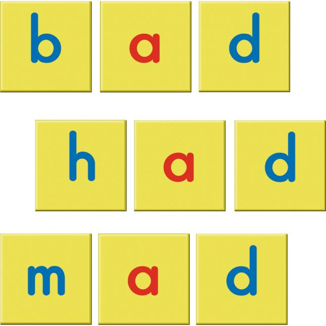 Magnetic Dry Erase Boards and Foam Letter Tiles - 6 Student Pack