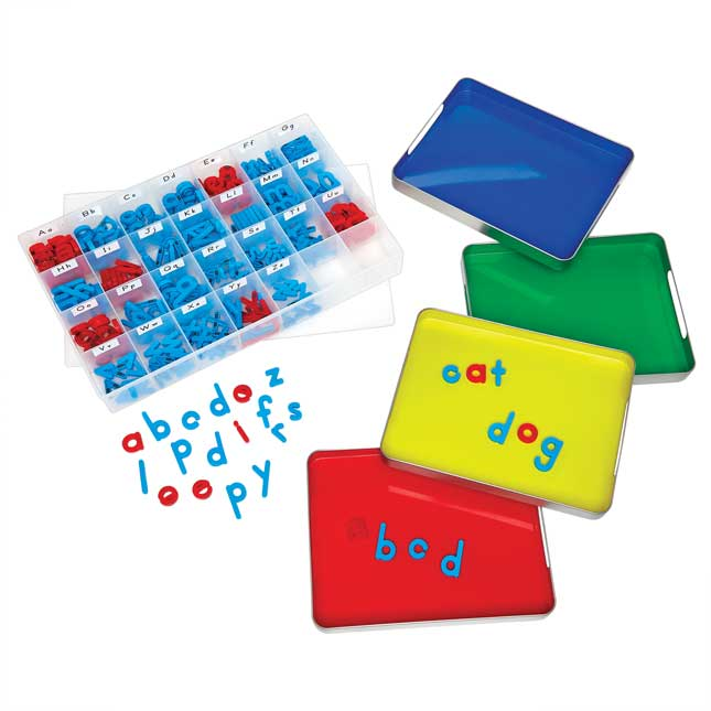 MAGtivity Tins And Magnetic Letters Classroom Kit