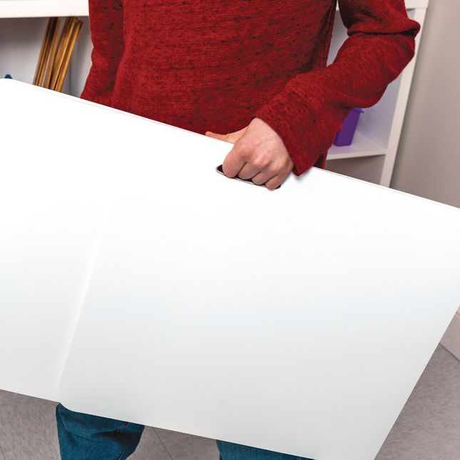 Durable Easy-Carry Plastic Privacy Shields - Set of 5